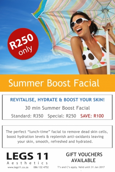 Summery Boost Facial Special